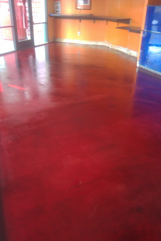 Concrete Staining Sealing Epoxy Coatings Overlay